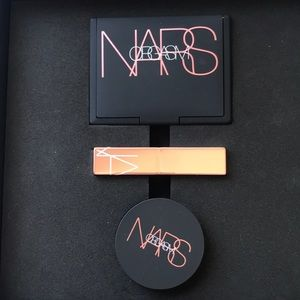 NARS Orgasm makeup- blush, lip balm, illuminating